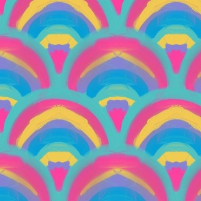 Rainbow Echidnas