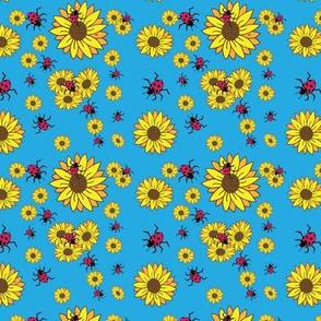 Ladybugs and Sunflowers