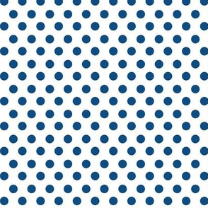 Simple Dot // Classic Blue on White