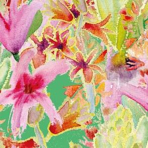 vivid spring hyacinths by rysunki_malunki