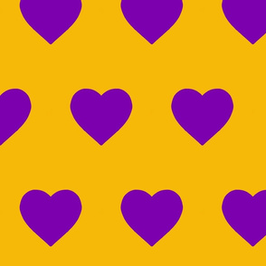 Gold and Purple Hearts (big)