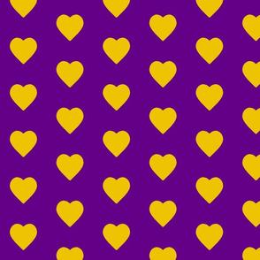 Purple World Gold Hearts (small)