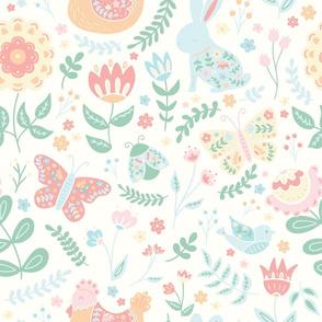 Spring Folk Floral