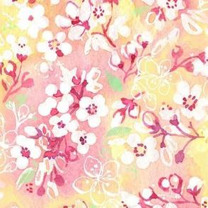Illustrated Spring Blossom