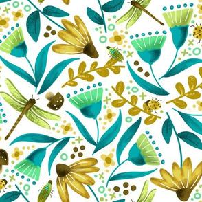 Garden Lovelies - Gold