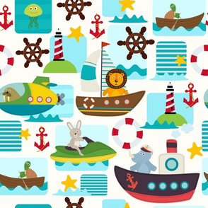 Animal Nautical Ocean Transportation