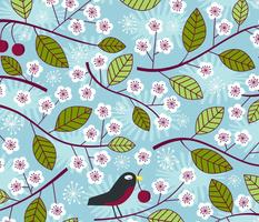 The Plum Thieves Spring Robins