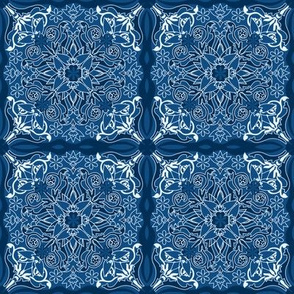 CLASSIC-BLUE-Tile Pattern I