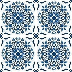 CLASSIC-BLUE-Tile Pattern II