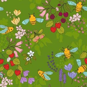 A Garden for Bees {Grass Green}