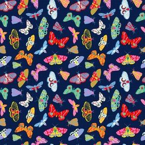 Midnight Moths - Micro Print