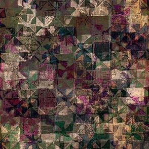 Old Fabric Art