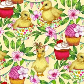 Sunny Duckling's Spring Picnic