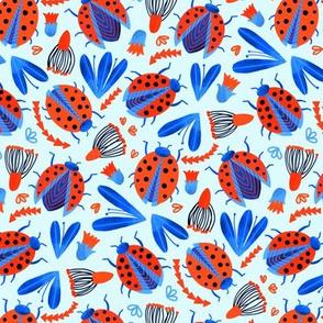 Classic Ladybird Botanical (Small Version)