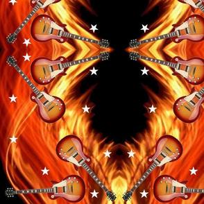 Guitars_ Stars_Flames_10.5x13.6 Mirror