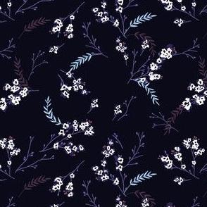 Cherry Blossom - Dark Purple