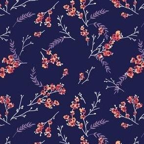 Cherry Blossom - Purple Red