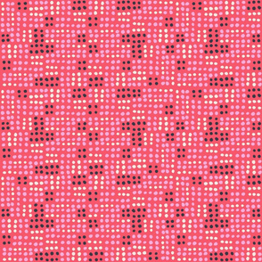 Bugs Life Dots Red