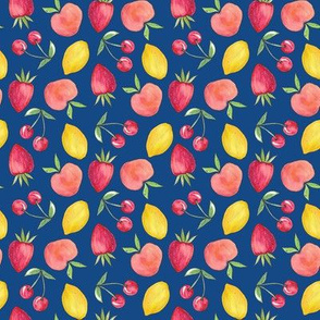 Feeling Fruity Print | Classic Blue