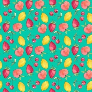 Feeling Fruity Print | Green