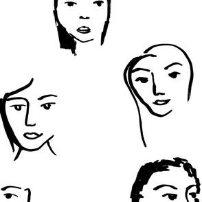 Faces big