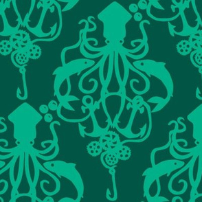 Squid Damask Mint