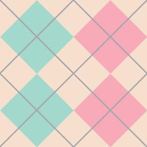 Retro Argyle Pattern