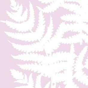 Alma // White on Lavender