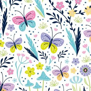 big springtime flora & fauna ♦ variation No 3.