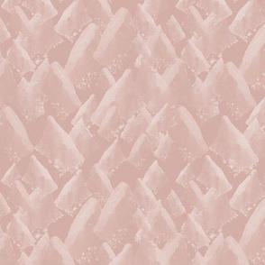 Printed Mountains in pink
