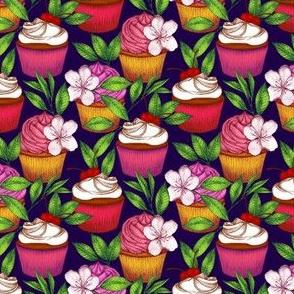 Midnight Cupcakes