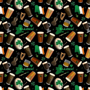 Irish Pub (black background)