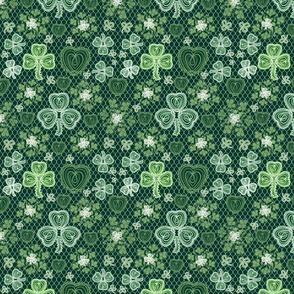 Irish Lace (dark green)