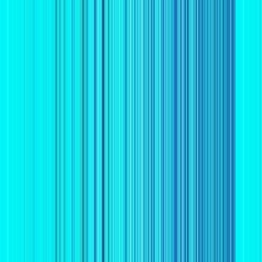 Cyan and Blue Vertical Stripes