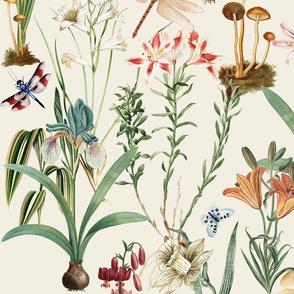 XL Garden Full Of Dragonflies Crema