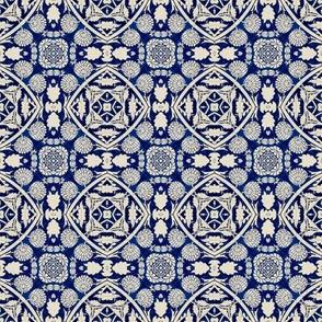 Intense Blue Pattern7
