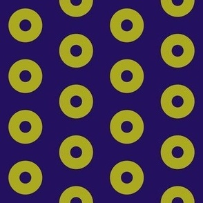 "Mango Donuts - 2"" block"