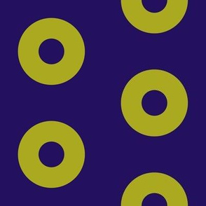 "Mango Donuts - 4"" block"