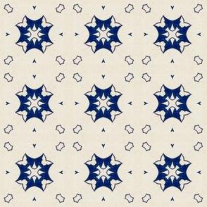 Intense Blue Pattern37
