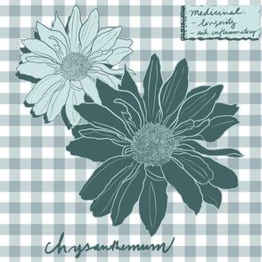 Chrysanthemum Herbal Pillow