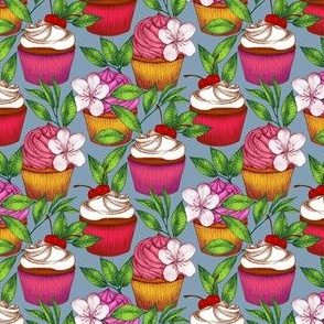 Cupcake Party on an Island