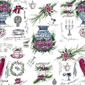 Darling Dottie Bridal Season pattern
