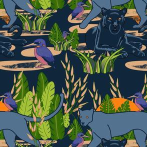 Dark Moody Exotic Animals Basic