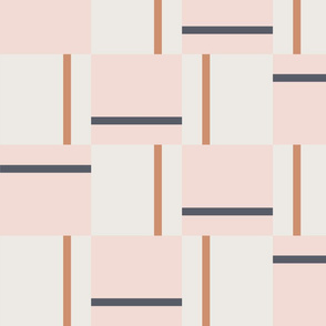 Baja Tile | large | blush