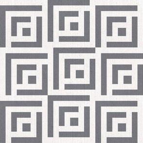 Maze Linen | medium | navy