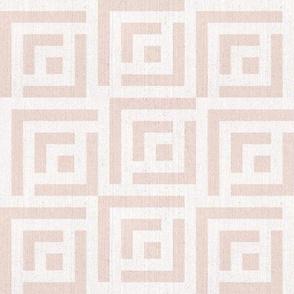Maze Linen | medium | blush