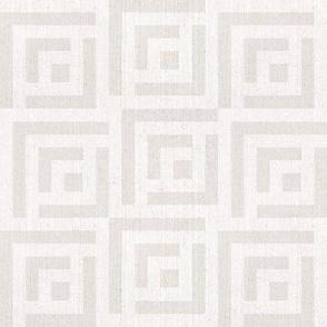 Maze Linen | medium | clay