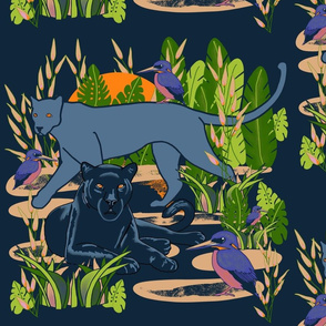 Dark Moody Exotic Animals 2