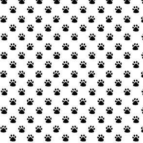 Pawprints pattern