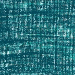 Coarse linen texture- teal turquoise